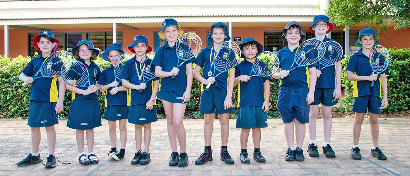 Darwin Primary School Students