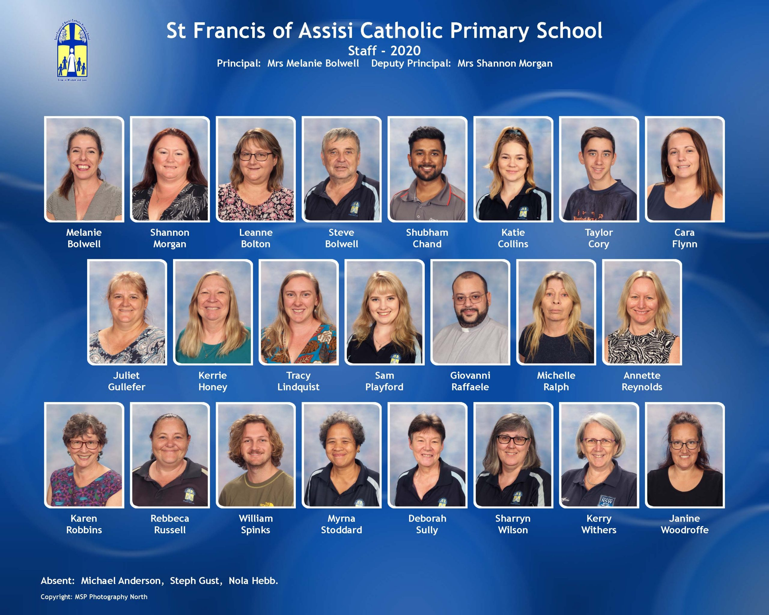 St Francis of Assisi Catholic Primary School Staff