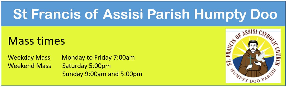 parish mass times